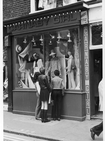 Carnaby Street Boutique--Photographic Print