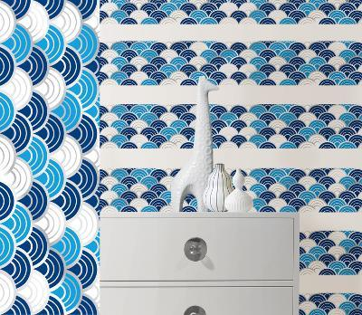Carnaby Stripe Wall Decal Sticker--Wall Decal
