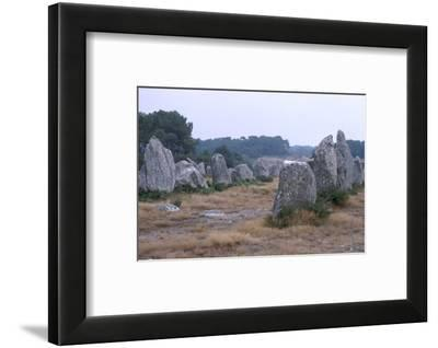 Carnac Alignments, Brittany, France, c20th century-CM Dixon-Framed Photographic Print