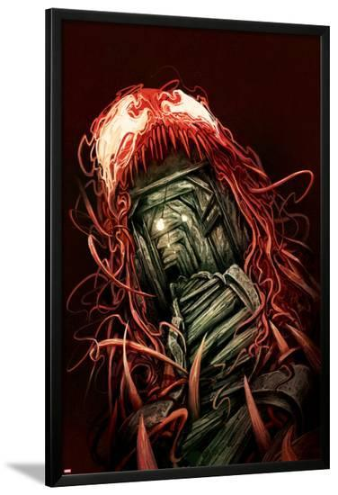 Carnage #1 Cover Featuring Entrance, Mine, Tracks-Mike Del Mundo-Lamina Framed Poster