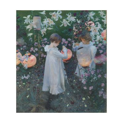 John Singer Sargent Carnation Giclee Canvas Print Paintings Poster Reproduction