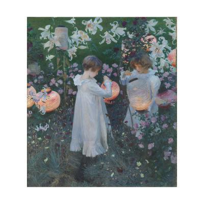 Carnation, Lily, Lily, Rose-John Singer Sargent-Giclee Print