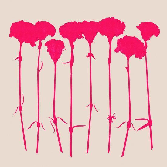 Carnations 2-Garima Dhawan-Art Print