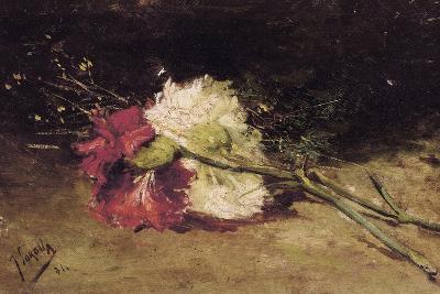 Carnations-Joaqu?n Sorolla y Bastida-Art Print