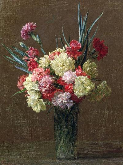 Carnations-Ignace Henri Jean Fantin-Latour-Giclee Print