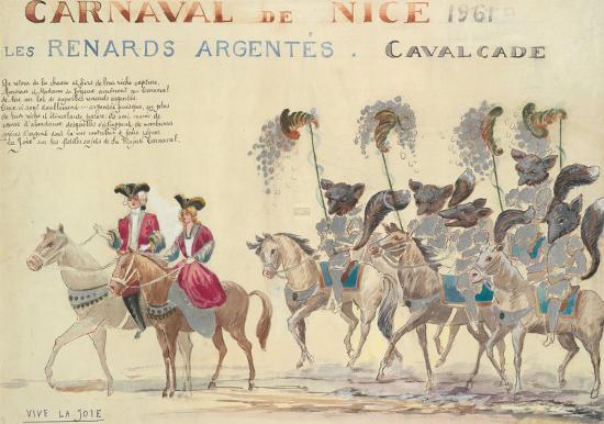 Carnaval De Nice, 1961-H Sauvigo-Premium Giclee Print