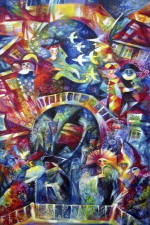 Carnaval-Oxana Zaika-Giclee Print