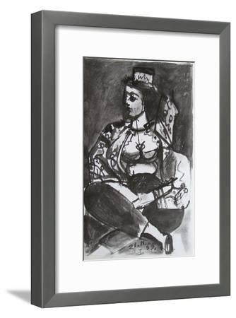 Carnet de Californie 04-Pablo Picasso-Framed Premium Edition