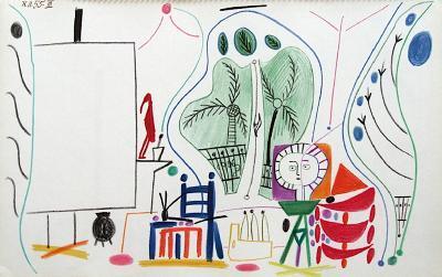 Carnet de Californie 29-Pablo Picasso-Premium Edition