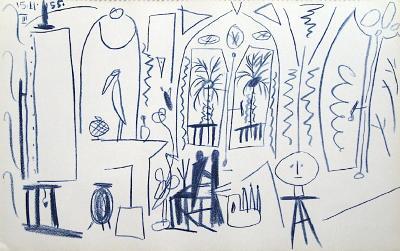 Carnet de Californie 35-Pablo Picasso-Collectable Print