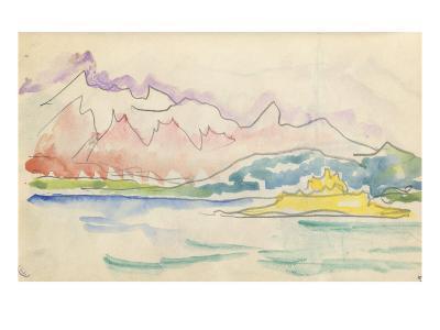 Carnet : Vue du golfe de Calvi ou de Saint-Florent-Paul Signac-Giclee Print