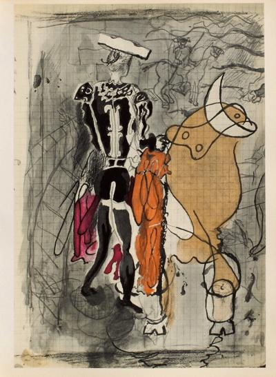 Carnets Intimes 13-Georges Braque-Collectable Print
