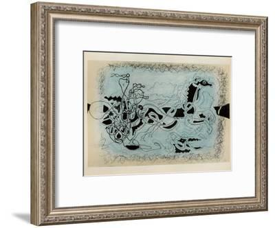 Carnets Intimes 19-Georges Braque-Framed Collectable Print