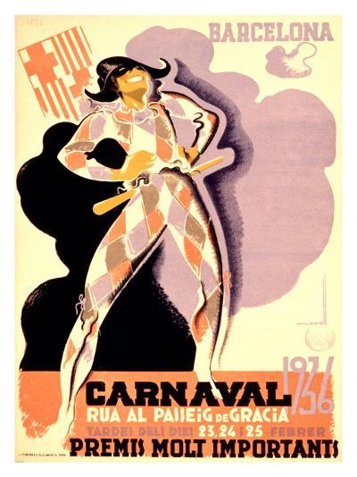 Carnival, 1936-Tubau-Giclee Print