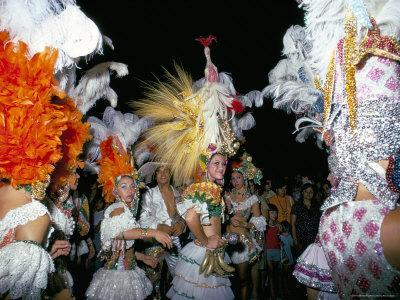 Carnival, Corrientes, Northern Argentina, Argentina, South America-Walter Rawlings-Photographic Print