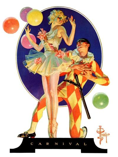 """Carnival,""February 25, 1933-Joseph Christian Leyendecker-Giclee Print"