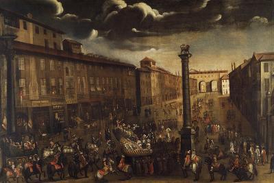 Carnival in Corso Venezia in Milan--Giclee Print