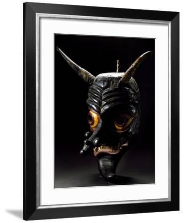 Carnival Mask from Val Pusteria, Trentino-Alto Adige, Italy--Framed Giclee Print