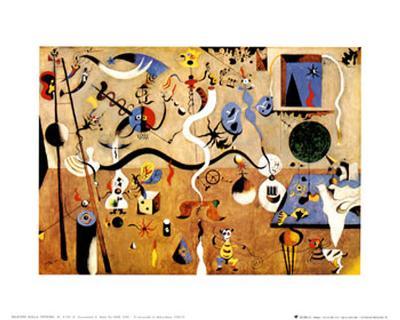 Carnival of Harlequin-Joan Mir?-Art Print