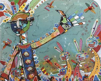 Carnival Time I-Anthony Breslin-Giclee Print