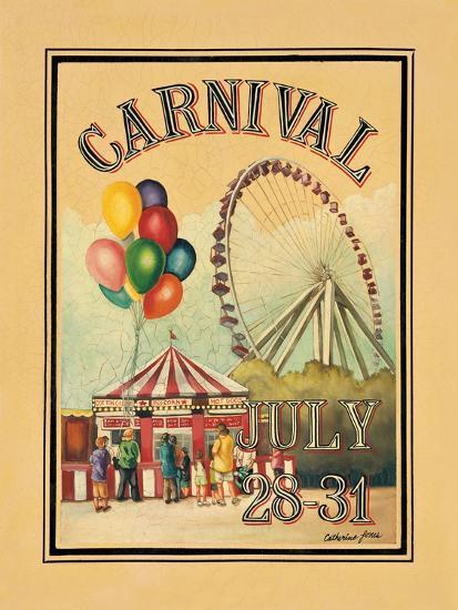 Carnival-Catherine Jones-Art Print