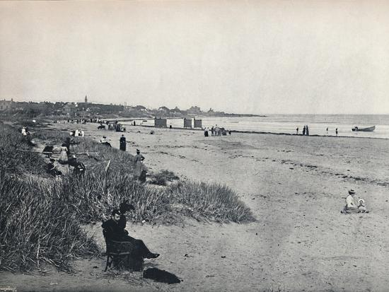 'Carnousetie - The Town and the Beach', 1895-Unknown-Photographic Print