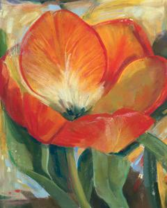 Summer Tulips I by Carol Buettner