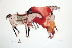 His Horses by Carol Grigg