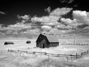 Barn, Rural Montana by Carol Highsmith
