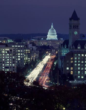 carol-highsmith-dusk-view-of-pennsylvania-avenue-america-s-main-street-in-washington-d-c