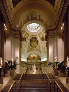 Interior View of Museum of Fine Arts by Carol Highsmith