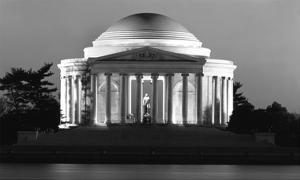 Jefferson Memorial, Washington, D.C. - Black and White Variant by Carol Highsmith