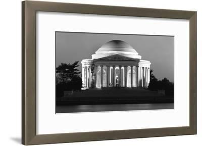 Jefferson Memorial, Washington, D.C. - Black and White Variant