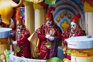 Mardi Gras Characters by Carol Highsmith