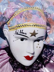 Mardi Gras Mask by Carol Highsmith