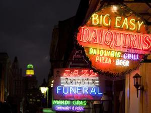 Neon Signs the French Quarter by Carol Highsmith