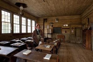 Old Alabama Town Classroom by Carol Highsmith
