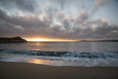 Pacific Sunset at Monterey, California