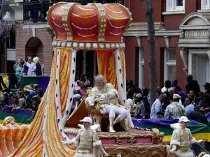 Parade King Mardi Gras by Carol Highsmith