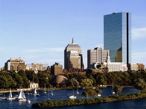 Tower from the Charles River by Carol Highsmith