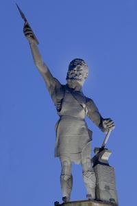 Vulcan At The Forge Statue, Birmingham, Alabama by Carol Highsmith