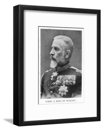 Carol I/King of Romania--Framed Photographic Print