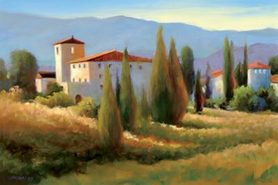 Blue Shadows in Tuscany I