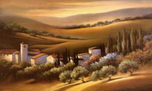 Tuscan Villa by Carol Jessen