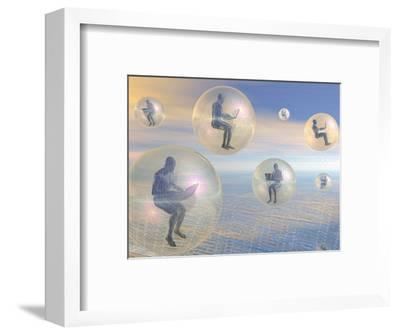 Conceptual Illustration of Wireless Digital Communication