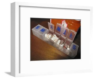 Daily Pill Reminder Containers with Medications