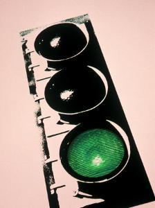 Green Traffic Light by Carol & Mike Werner