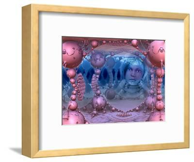 Mathworld, Imagination, Child Within A Three-Dimensional Fractal