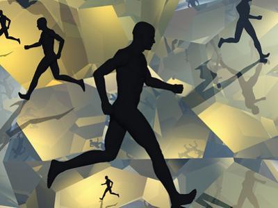 Running Man by Carol & Mike Werner