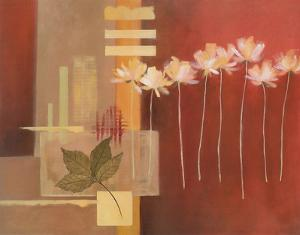Contemporary Crimson II by Carol Robinson